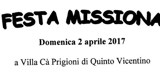 12ª festa Missionaria