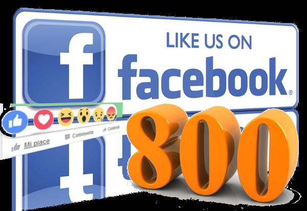 800 Like su Facebook